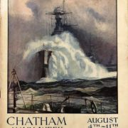 National Maritime Museum, Greenwich, London, PBB9832: Chatham Navy Week: Official Guide and Souvenir, 1934. Courtesy of the National Maritime Museum, Greenwich, London.